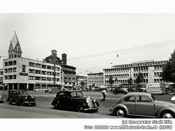 St.ApostelnundKreissparkasse, Neumarkt 18a-28, 50667 Köln - Altstadt-Süd (1953)