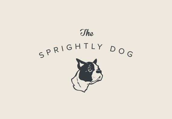 PREMADE PROFESSIONAL LOGO Design  Dog Puppy by BRANDSOCIETY