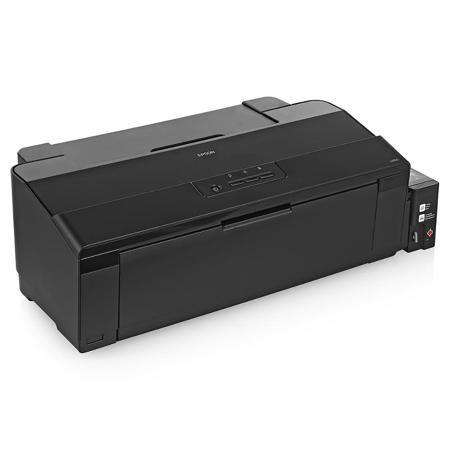 принтер струйный EPSON L1800  — 43590 руб. —  Фабрика печати Epson L1800 - это уникальный фотопринтер формата А3+ со встроенными большими емкостями для чернил, специально созданный для тех, кому необходима экономичная печать фотографий до формата А3+. Струйный фотопринтер Epson L1800 позволяет печатать цветные фотографии высокого качества с рекордно низкой себестоимостью формата 10х15. А стартового набора расходных материалов хватит на 1500 фотографий. Принтер Epson L1800 демонстрирует…