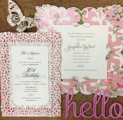 February | 2014 | Annau0027s Blog | Page 2 · Cricut Explore ProjectsAnna  Griffin BlogWedding InvitationsCard ...