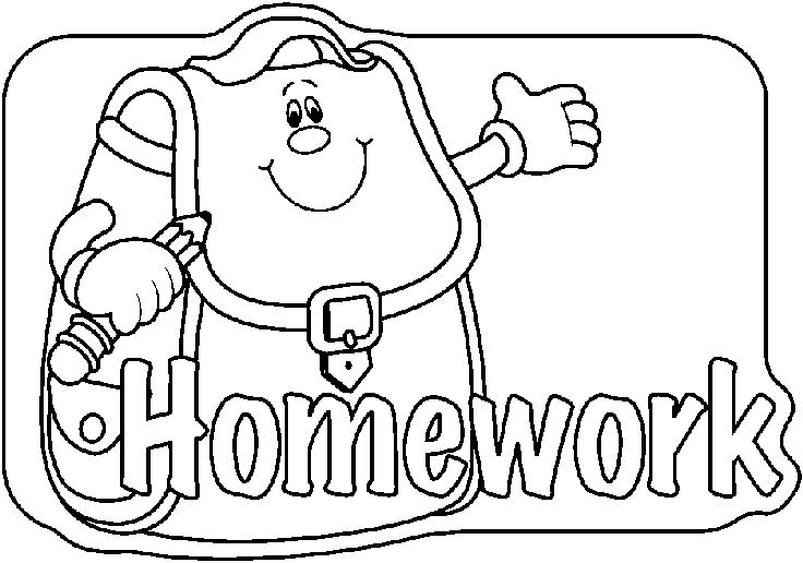 clipart homework book - photo #31