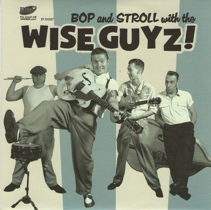 The Wise Guyz - Now on vinyl - Great Rockabilly EP