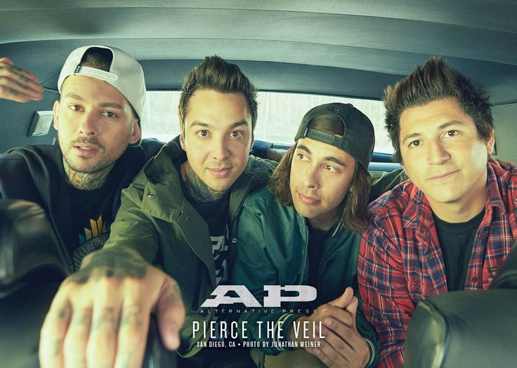 We have the exclusive story behind PIERCE THE VEIL's new album Misadventures, as…