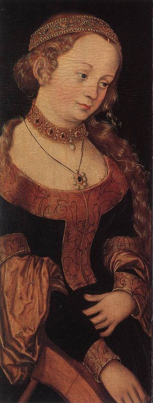 St. Catherine of Alexandria From Lucas Cranach the Elder