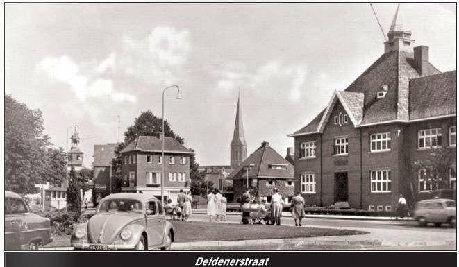 Deldenerstraat Hengelo (jaartal: 1950 tot 1960) - Foto's SERC
