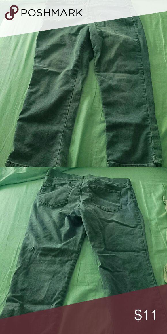 Light Blue jean pants They are Light Blue Pants, have a stretchy waist Capri pants NYDJ Pants Capris