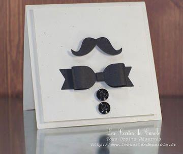 Moustache B'Day by Carole Pillon at Studio Calico