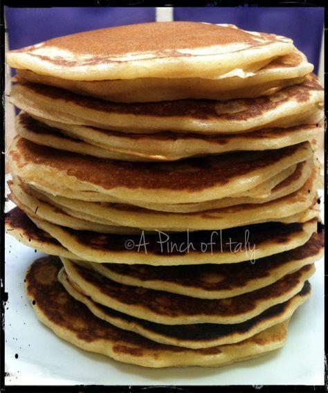 Preparato per Pancakes Fatto in Casa  facile da preparare e sempre a portata di mano! una merenda con i fiocchi!
