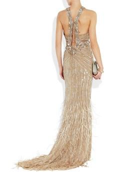 ROBERTO CAVALLI Embellished silk-chiffon gown Roberto Cavalli: Evening Dresses, Wedding Dresses, Elegant Dresses, Dream Wedding, Dreams Dresses, Gown Roberto, Dresses Rompers Playsuits, Dressy Dreams