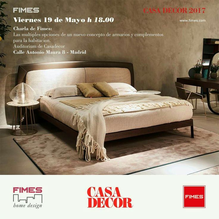 Conference en Casa Decor 2017 by Fimes. #casadecor2017 #fimes #madrid #eleroom62 #design #interiordesign #madeinitaly #nightstand #vanity #bed #bedroom #marble #brass #gold #leather #wood #miguelmuñoz