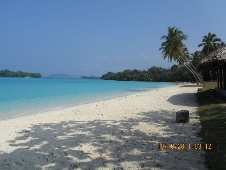 This is one of our favourite places in Vanuatu,  Port Olry.