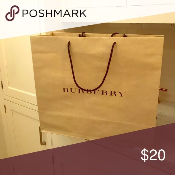 Burberry Shopping Bags Burberry Shopping Bag Burberry Other