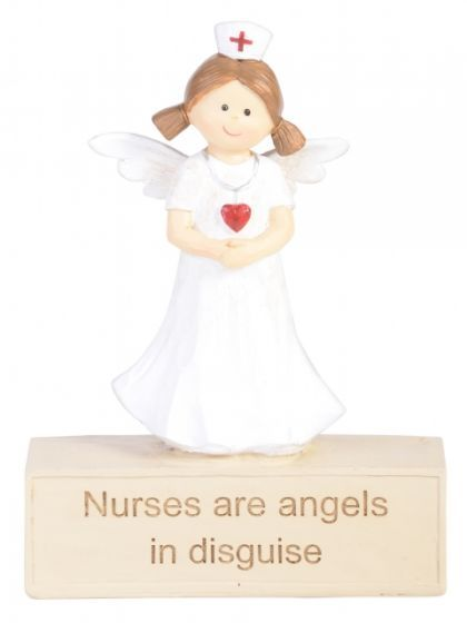 Adoring Angel Figurine - Nurse