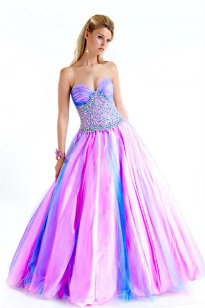 17 Best images about Colorful Dresses on Pinterest | Prom dresses ...