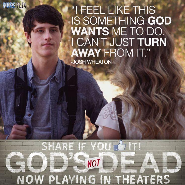 God's Not Dead - Shane Harper as (Josh Wheaton) in God's Not Dead now playing in…