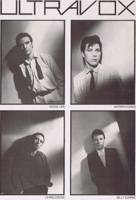 Ultravox - one of my favourite 80's/90's bands!
