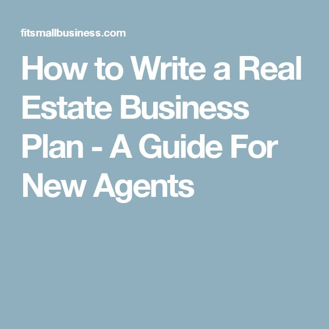 Best 25+ Real estate business plan ideas on Pinterest Business - real estate business plan template