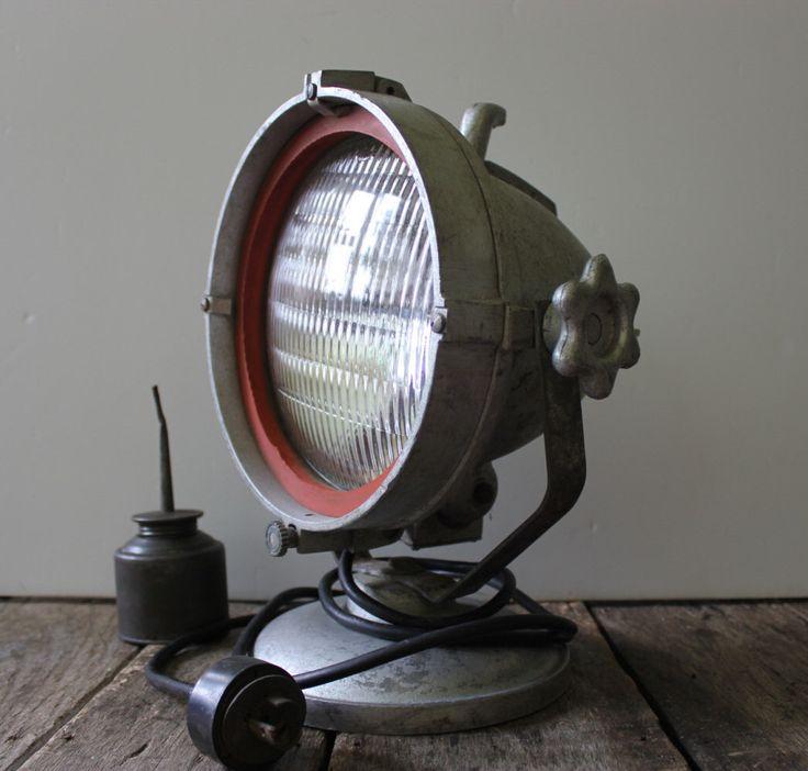 spot lighting ideas. vintage industrial spot light man cave decor by lighting ideas