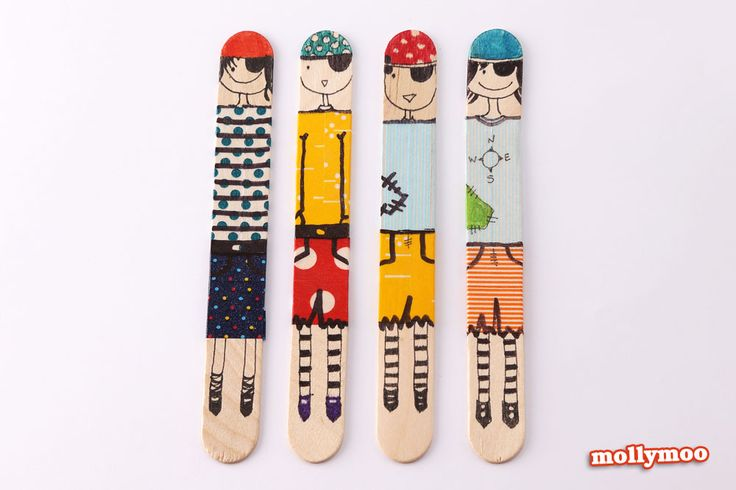 Quick Craft - Craft Stick Dolls