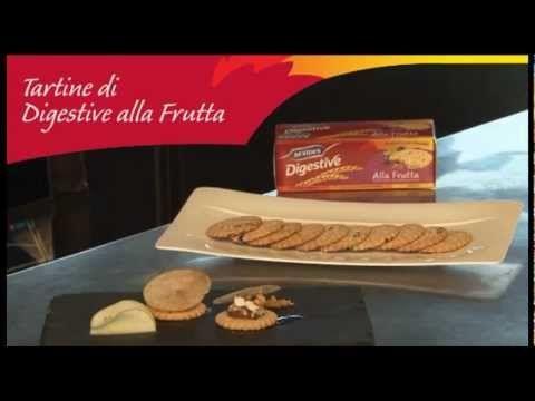 #mcvities #digestive Tartine di Digestive alla Frutta #recipe #recipes #ricetta