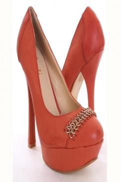 Coral 51/2in heels