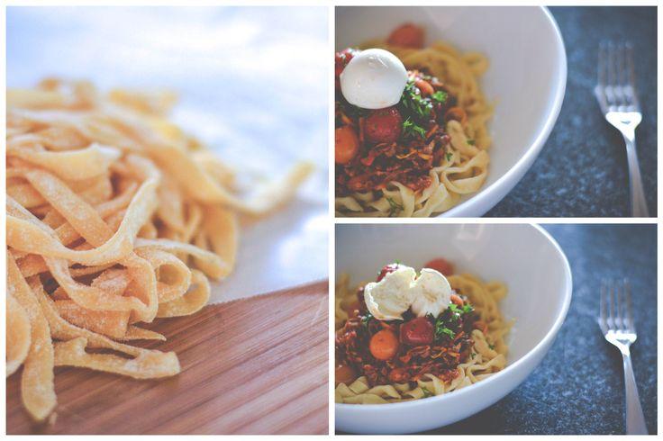 Fresh made pasta Spag Bol