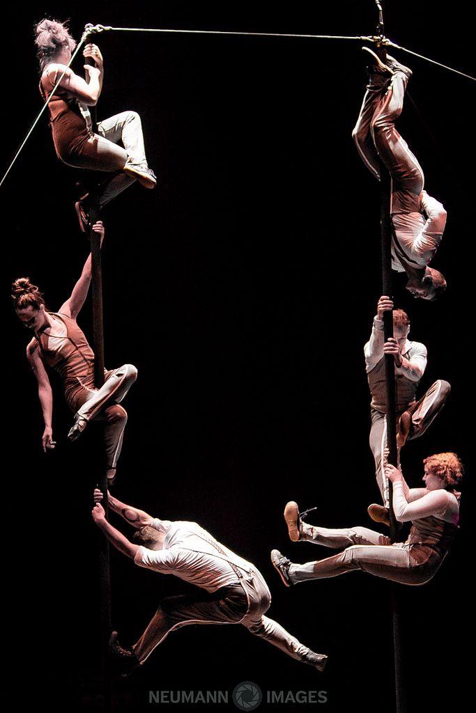 Circus Oz performers