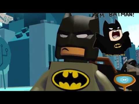 Çizgi Film - Lego Batman ve Flash - süper kahramanlar ve kötü adamlar oyunu