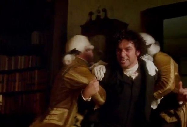 Poldark another fight with George! Go back to your scullery maid! Season 2