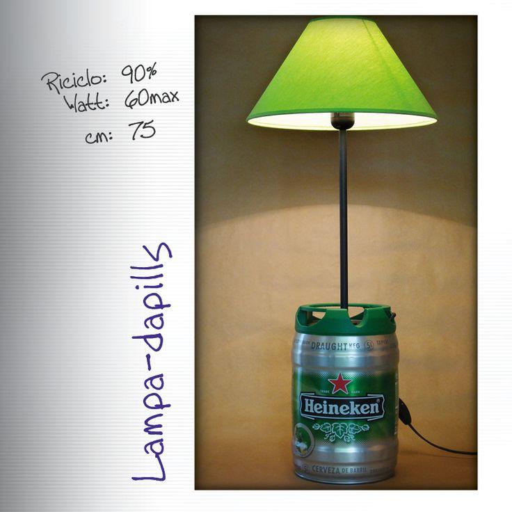 Lampada da terra Heineken #bar #pub
