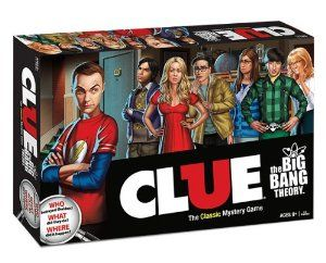 Amazon.com: Clue: The Big Bang Theory Collector's Edition Board Game: Toys & Games