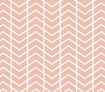 Changing Pad Cover Blush Chevron by ModFox on Etsy, $35.00