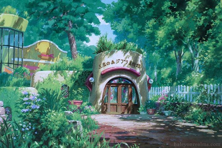"""""""Ghibli Museum"""" by Yoshida Noboru* Illustrated Postcards 