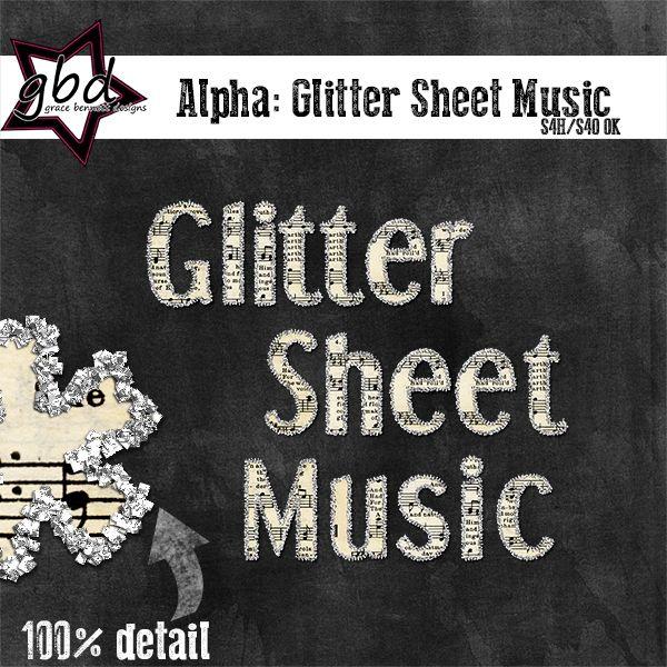 Alpha: Glitter Sheet Music