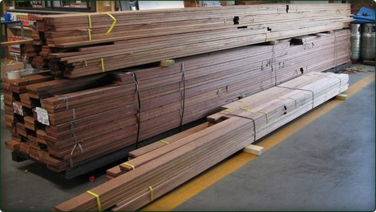 Merbau Decking available from Wayne's World - Timber and Building supplies at Botany. 9666 9409