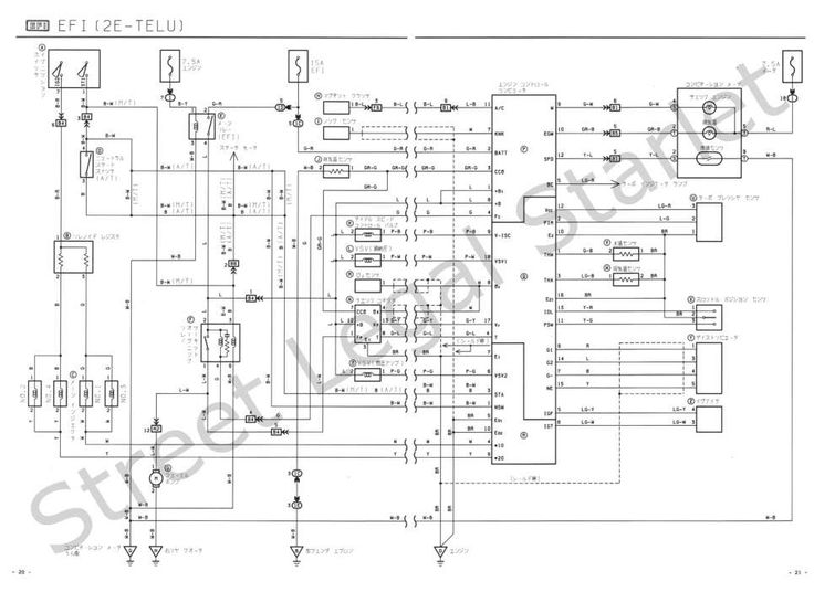 Toyota 4Efte Engine Wiring Diagram and Toyota Efte Wiring