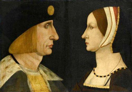Louis XII  avec Anne de Bretagne
