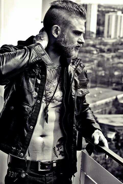 Josh Mario John // tattoo, beard.
