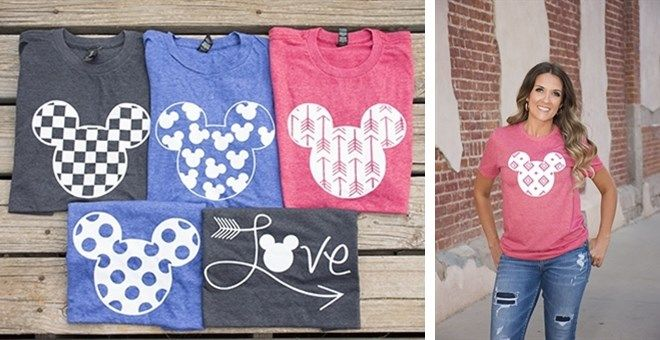 Disney Inspired shirts are so NEEDED for your next family trip, or for those who just cant get enough of our favorite character!