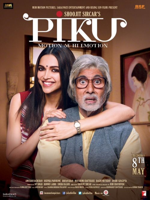 Piku - a heart warming, enjoyable movie. watched it yesterday and cant stop raving about it..A must watch