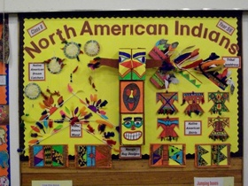 North American Indians Display