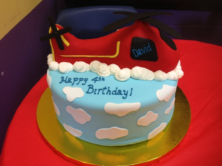 Helicopter cake by Vanessa Ross Cakes in Lincoln University, PA