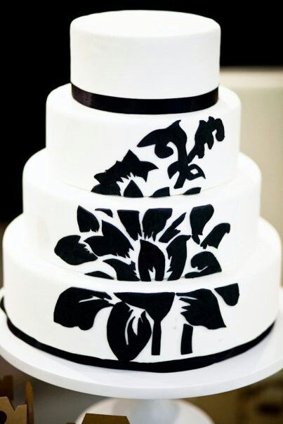Black White From Sarah S Cake Stand Website