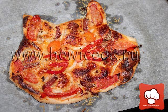 Мини-пицца котенок