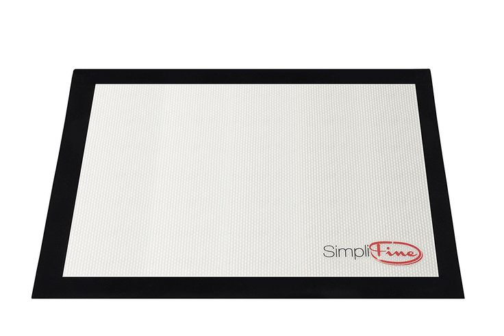 SimpliFine Baking Liner, Reusable Silicone Baking Mat Sheet Professionals Prefer, Best Half Size Heat Resistant Mat, Promote Healthy Baking with This Fantastic Pastry and Cookie Sheet Bakeware, Non-Slip Baking Pan Liner for the Gourmet Baker In You >>> You can find out more details at the link of the image.