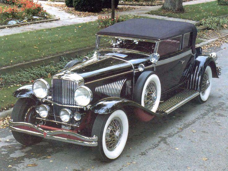 1934 Duesenberg J Victoria Convertible Coupe