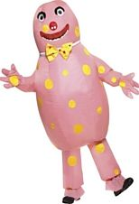 Mr Blobby Costume, With Inflatable Suit and Gloves. Great fun costume for a fancy dress party! One size fits most