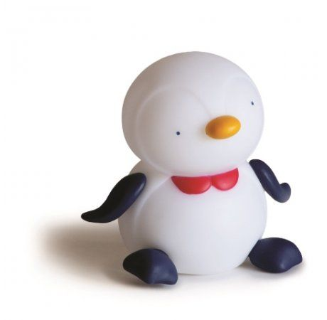 Giimmo Night Light - Bebe the Penguin - $49.95 - Introducing Bebe the Penguin Giimmo rechargeable night light.. cheerful, happy and an absolute delight!  Introducing the world's most effective potable night light by far! A gorgeous and unique baby shower gift that will make a stylish addition to any nursery! #littlebooteek #boys #bedroom #nursery #decor #lighting #giimmo