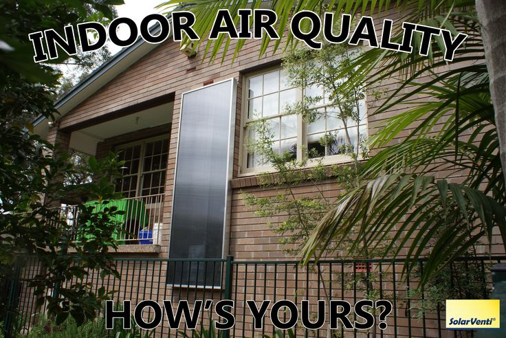 SolarVenti Unit - How's your air quality?