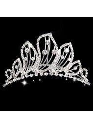 bruids haar haar haaraccessoires bruids-kroon briljant geslepen diamant…